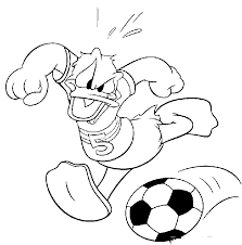 donald duck kick ball donald duck u0026 daisy coloring pages