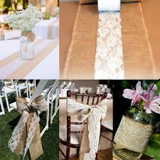 diy chair sashes aliexpress buy 9 meter roll lace fabric 6 ribbon netting