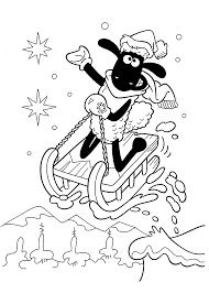 shaun the sheep coloring pages getcoloringpages com