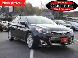 certified used toyota avalon used 2015 toyota avalon for sale in augusta me s toyota