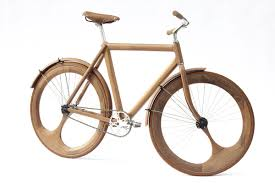 jocundist bicycle made out of wood