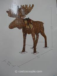 moose yard decorations rainforest islands ferry