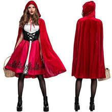 popular red cape fancy dress buy cheap red cape fancy dress lots