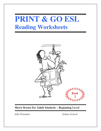 esl worksheets book 2 short stories for students