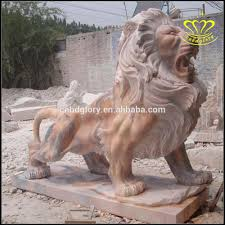 lion dog statue china marble animals fengshui foo fu dog wealth lion