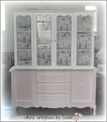repurpose china cabinet in bedroom a painted hutch makeover hometalk