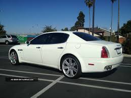 custom maserati sedan car picker white maserati quattroporte gts