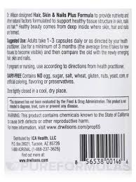 Emerging Brands For A Cause Skin U0026 Nails Plus Formula 100 Capsules