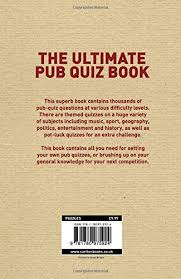 the ultimate pub quiz book more than 10 000 questions amazon