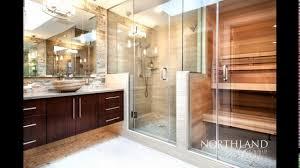 designer sauna bathroom with sauna designs