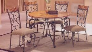 furniture lovely rustic metal dining chairs odahgw ergonomic
