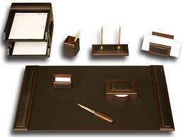 Mahogany Desk Accessories Shining Desk Accessories For Gifts Him Wood Mahogany