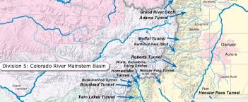 colorado river map an alchemy of water in the colorado river headwaters