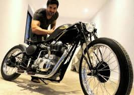 hellcat x132 dhoni 5 celebrities and their bike collection