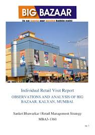 Big Bazaar Home Decor by Retail Visit Report Of Big Bazaar