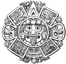 aztec sun drawing at getdrawings com free for personal use aztec
