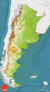 physical map of argentina physical map of argentina single color outside satellite sea