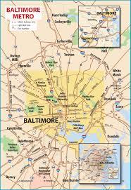 Map Metro Dc by Baltimore Metro Area Map