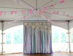 wedding backdrop material doily decor diy rb planners