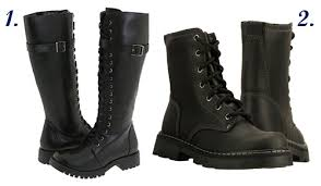 womens steel toe boots payless fall trend 3 combat boots 1st on trend