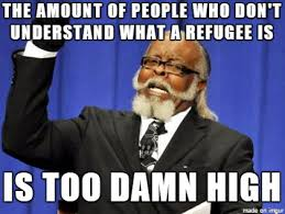 Clear Meme - with all the refugee meme s flying about one thing is clear
