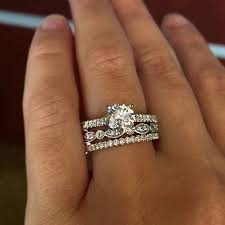 wedding band ideas engagement rings 2017 top 10 ring stacks of 2015 fashioviral