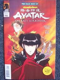 mini avatar airbender comic free comic book