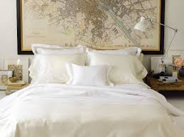 luxury organic cotton bed sheets and pillow cases