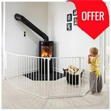 buy babydan configure flex xl hearth gate white 90 278cm online