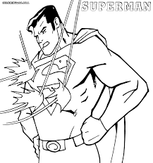 superman coloring pages coloring pages download print
