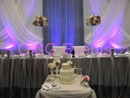 wedding backdrop linen angus glen golf course recent wedding design grand cris cross
