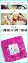simple photo frame making for kids too young to fall in love