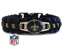 saints bracelet new orleans saints paracord bracelet handmade by us veterans