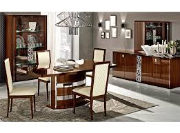 Italian Dining Room Sets Dining Table Ef Rima Walnut By Camelgroup