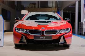 red bmw 2016 bmw presents i8 protonic red special edition live photos