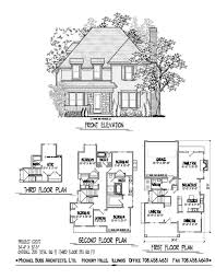 craftsman home floor plans rear entry garage house ft wide plans shallow lot on small