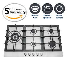 Sealed Burner Gas Cooktop Cosmo Appliances 34 U2033 Gas Cooktop With 5 Sealed Burners 950sltx E