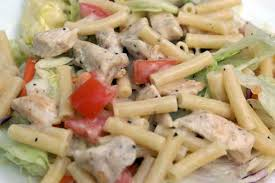chicken pasta salad caesar chicken pasta salad