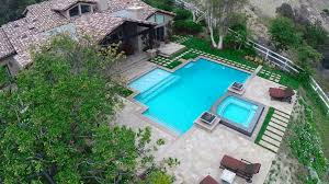 Pool Landscape Pictures by A Drone U0027s Eye View The Green Scene Landscaping U0026 Pools