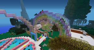 Minecraft House Map Bringing Rainbows To Minecraft Www Cilitra Com