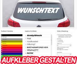 aufkleber selber designen aufkleber drucken klebebuchstaben autoaufkleber selber gestalten
