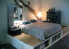 Easy Diy Platform Storage Bed by 32 Best Cheap Bed Frame Ideas Images On Pinterest Storage Beds