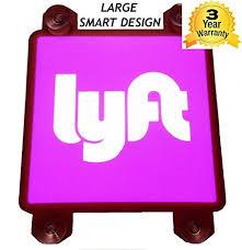 lyft light up beacon amazon com lyft sign light up for car large 5 inch 4 suction