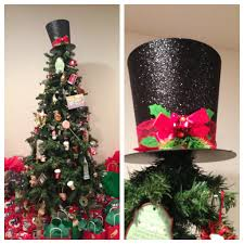 unique tree topper top hat christmas tree topper christmas lights decoration
