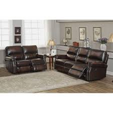 Leather Reclining Sofas And Loveseats by Sofa Attractive Reclining Leather Sofa And Loveseat Set Sofa Set