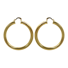 hoop earring sade hoop earrings available in 4 sizes melody ehsani