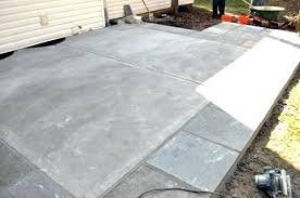 How To Lay Patio Stones by How To Stain Old Concrete Patio Lifestyledatlanta Howto 4 How To