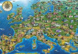 European Map Game by Map Of Europe Jigsaw Puzzle Puzzlewarehouse Com