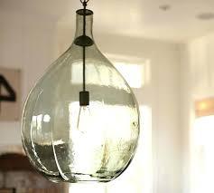 Oversized Pendant Lighting New Seeded Glass Pendant Lighting Oversized Glass Pendant Pottery
