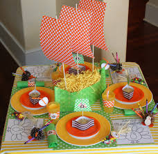 homemade thanksgiving centerpieces amanda u0027s parties to go tutorial thanksgiving kid u0027s table ship